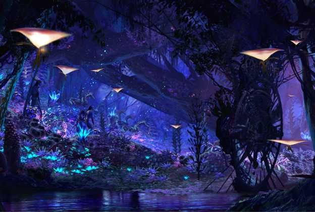 Na'vi River Journey concept art