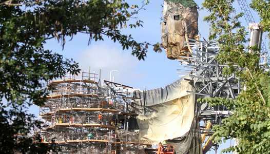 PHOTOS - Pandora - The World of AVATAR construction update