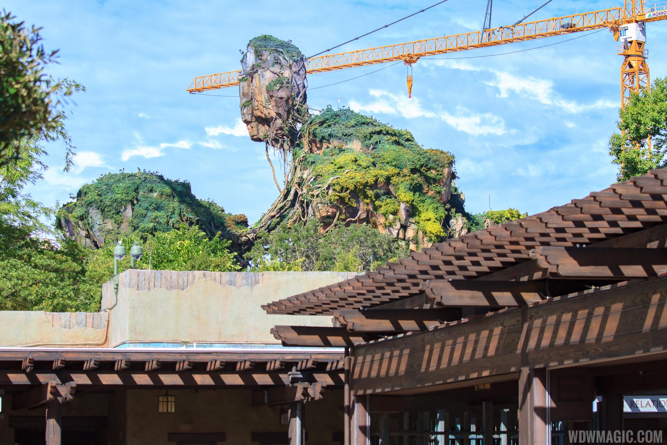 Pandora - The World of AVATAR construction