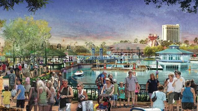 Disney Springs - Disney Springs concept art