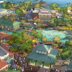 Disney Springs concept art