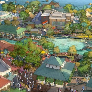 3 of 7: Disney Springs - Disney Springs - The Landing concept art