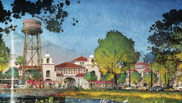 Disney Springs - Disney Springs - Town Center and The Landing concept art