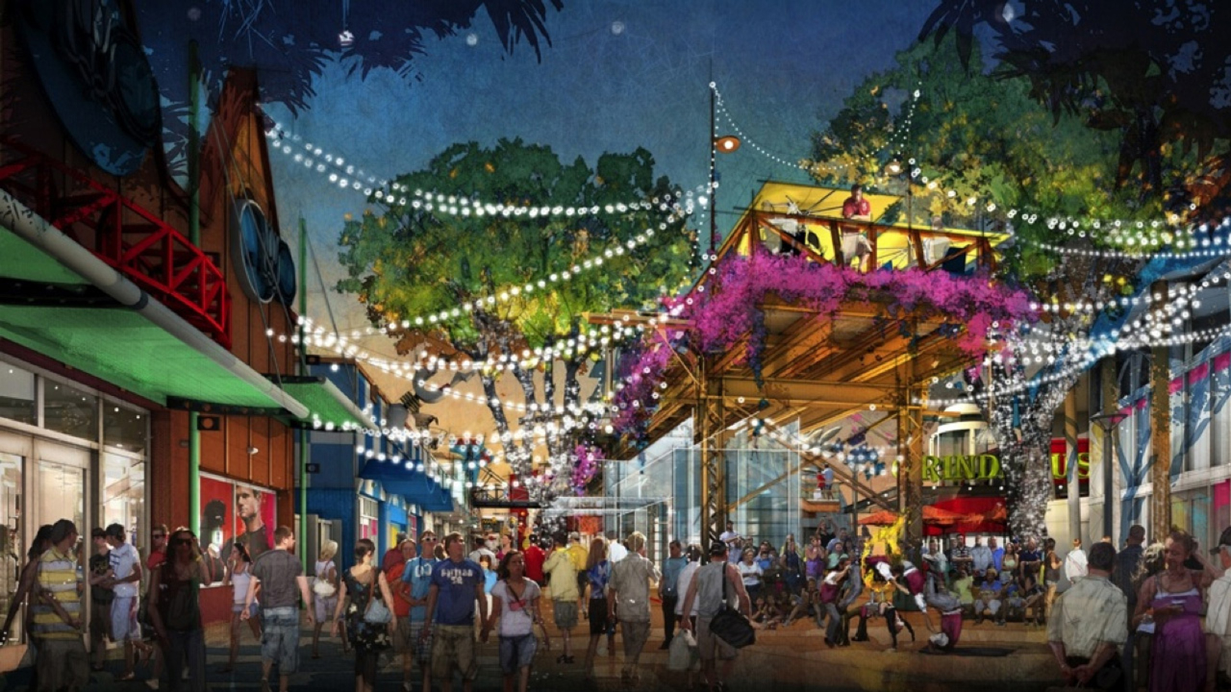 Disney Springs Concept Art Photo 6 Of 7