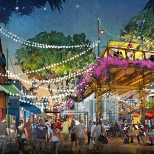 6 of 7: Disney Springs - Disney Springs - West Side concept art