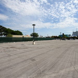 3 of 3: Disney Springs - Disney Springs cast trailer preparation in Lot Q