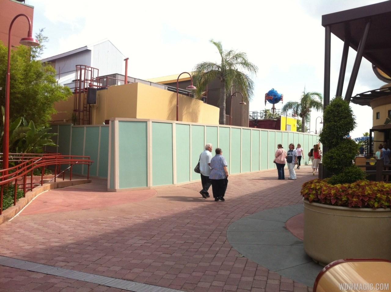 Disney Springs construction walls around more of Pleasure Island