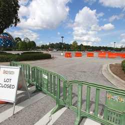 Parking Lot H closed