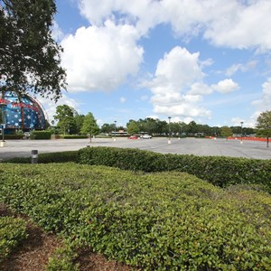 2 of 4: Disney Springs - Parking Lot H closed