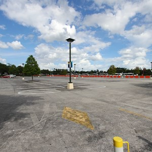 3 of 4: Disney Springs - Parking Lot H closed
