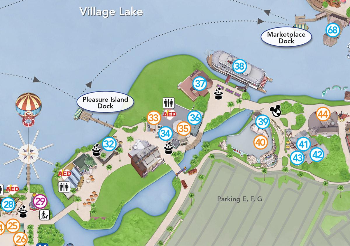 Repin image downtown disney map on pinterest