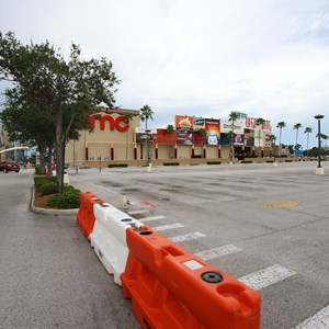 1 of 6: Disney Springs - Parking lots I and J closed