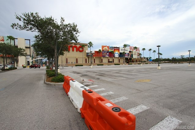 Disney Springs - Parking lots I and J closed
