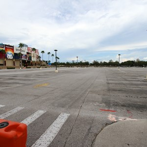 2 of 6: Disney Springs - Parking lots I and J closed