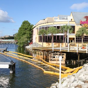 3 of 4: Disney Springs - Pleasure Island bypass bridge construction