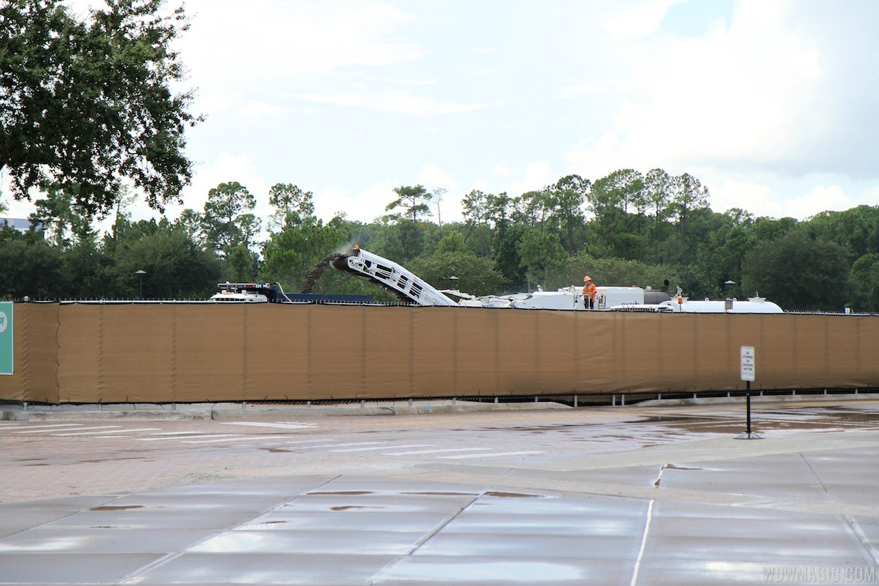 Parking lots removal
