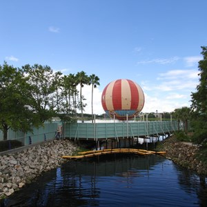 1 of 4: Disney Springs - Pleasure Island bypass bridge construction