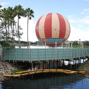 2 of 4: Disney Springs - Pleasure Island bypass bridge construction