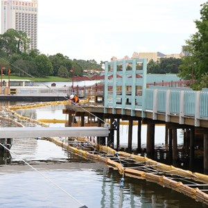 4 of 4: Disney Springs - Pleasure Island bypass bridge construction