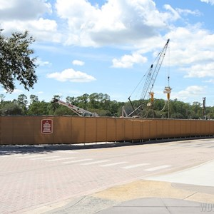 1 of 5: Disney Springs - Disney Springs parking garage construction
