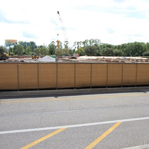 3 of 5: Disney Springs - Disney Springs parking garage construction