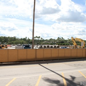 5 of 5: Disney Springs - Disney Springs parking garage construction