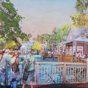 2 of 6: Disney Springs - New Disney Springs concept art