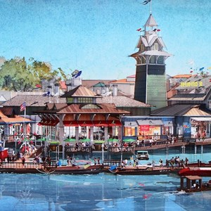 3 of 6: Disney Springs - New Disney Springs concept art