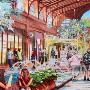 4 of 6: Disney Springs - New Disney Springs concept art