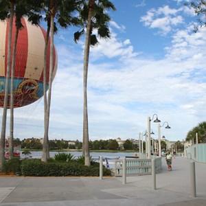 1 of 10: Disney Springs - Pleasure Island bypass bridge completed