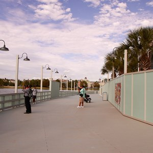 3 of 10: Disney Springs - Pleasure Island bypass bridge completed