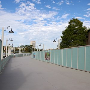 4 of 10: Disney Springs - Pleasure Island bypass bridge completed