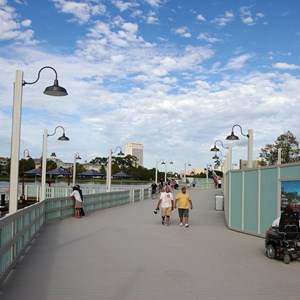 5 of 10: Disney Springs - Pleasure Island bypass bridge completed