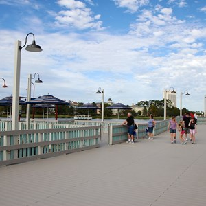 6 of 10: Disney Springs - Pleasure Island bypass bridge completed