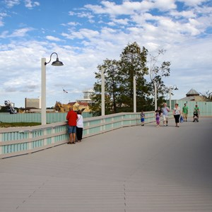 8 of 10: Disney Springs - Pleasure Island bypass bridge completed