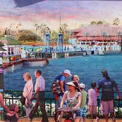 New Disney Springs concept art