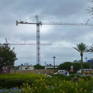 1 of 4: Disney Springs - Disney Springs parking garage construction