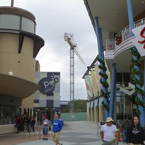 3 of 4: Disney Springs - Disney Springs parking garage construction