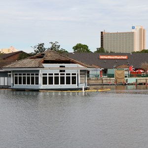 1 of 5: Disney Springs - Cap'n Jacks restaurant and marina demolition
