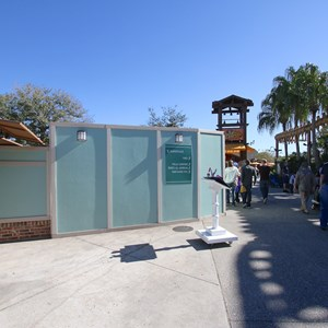 2 of 5: Disney Springs - Marketplace Causeway and The Landing construction walls