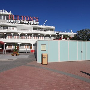 4 of 5: Disney Springs - Marketplace Causeway and The Landing construction walls