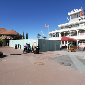 5 of 5: Disney Springs - Marketplace Causeway and The Landing construction walls