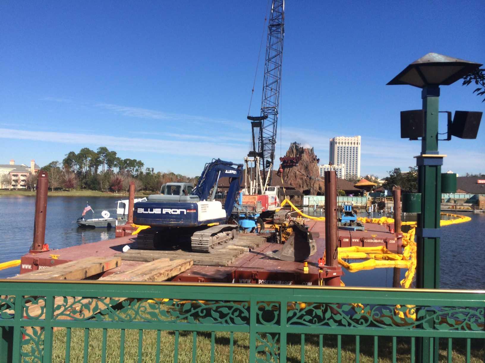 Marketplace Causeway construction cranes