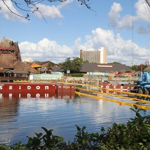 1 of 8: Disney Springs - Marketplace Causeway construction