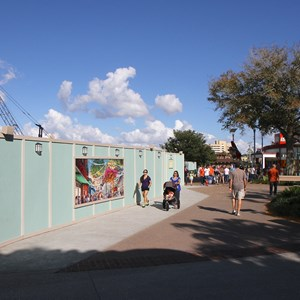 7 of 8: Disney Springs - Marketplace Causeway construction