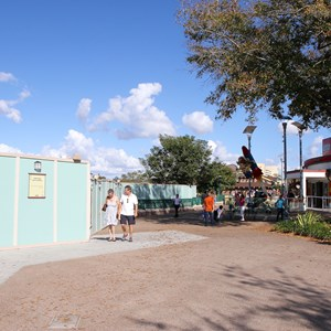 8 of 8: Disney Springs - Marketplace Causeway construction