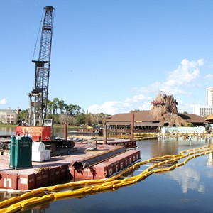 4 of 8: Disney Springs - Marketplace Causeway construction
