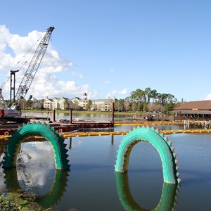 5 of 8: Disney Springs - Marketplace Causeway construction