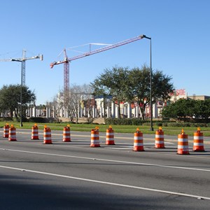 4 of 4: Disney Springs - Disney Springs West Side parking garage construction