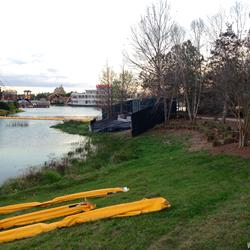 Marketplace to Saratoga Springs Resort bridge construction